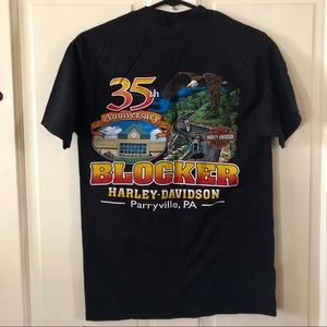 Harley Davidson shirt dealer 35th anniversary